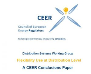 Flexibility Use at Distribution Level – A CEER Conclusions Paper